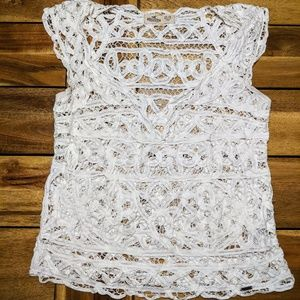 Hollister Lace Top XS/ Small